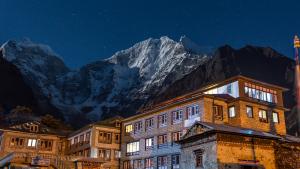 Noční pohled z Himálají