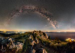Mléčná dráha v Chorvatsku