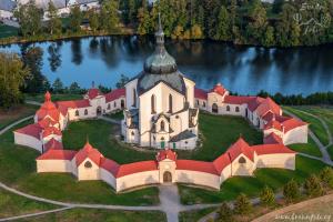 Kostel Zelená hora ve Žďáře nad Sázavou