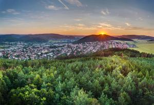 Západ Slunce nad Květnicí.